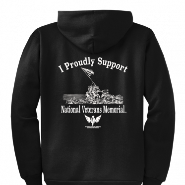 I Proudly Support VM Hoodie - Black