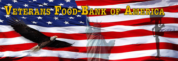 Veterans Food Bank Donations Cans for Vets